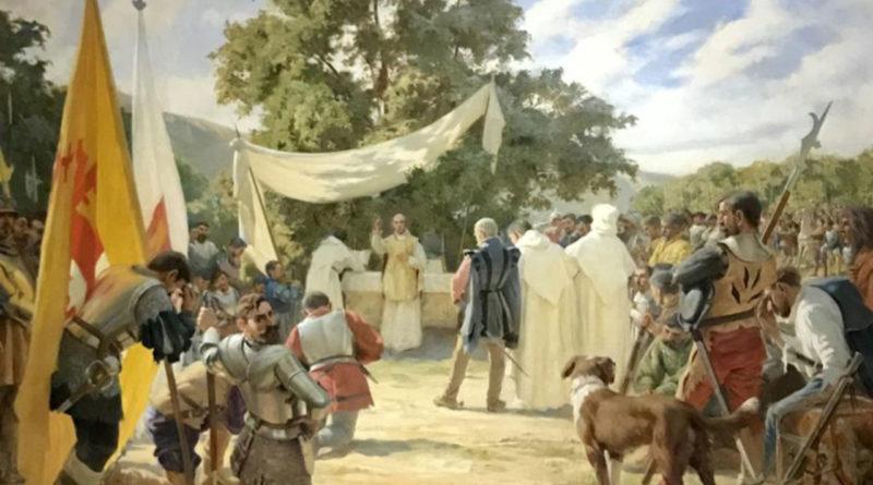 525° aniversario de la primera misa celebrada en América