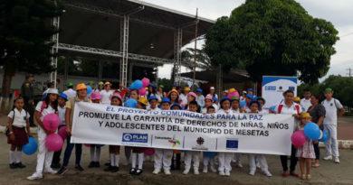 Entornos protectores para más de 1900 niños y niñas afectados por el conflicto