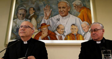 Obispado en Chile informa sobre situación de sacerdotes investigados por abusos