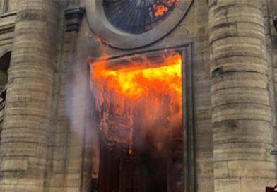 Oleada de profanaciones de iglesias en Francia