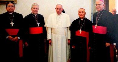 Venezuela: los obispos reciben un mensaje del Papa Francisco