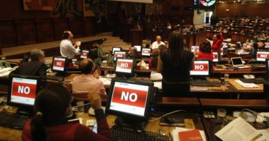 Ecuador: asamblea nacional rechaza ampliar supuestos de despenalización del aborto