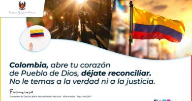 Episcopado colombiano pide seguir orando por la reconciliación nacional