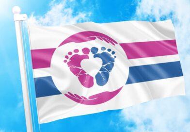 Recién adoptada la bandera internacional pro-vida